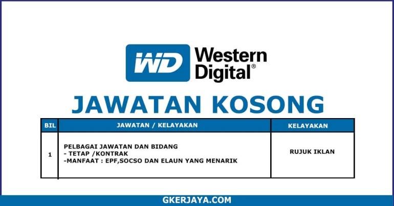 Kerja terkini Western Digital (1)