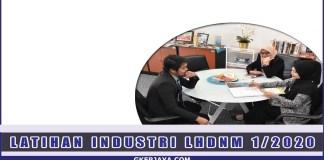 Latihan Industri LHDN Sesi Dibuka