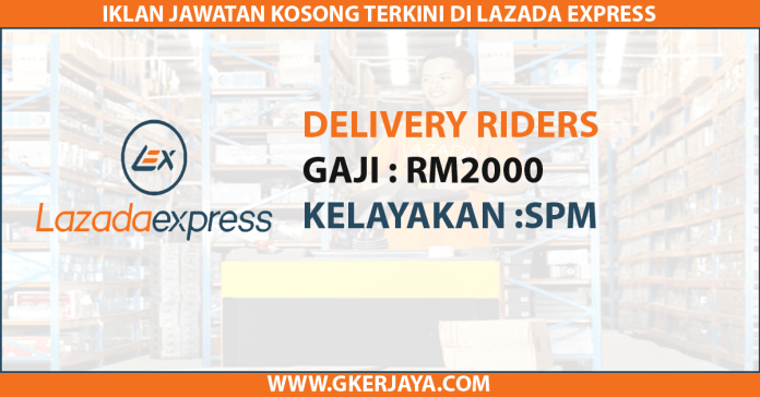 Lazada express Delivery Riders Career