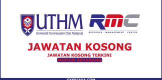 Peluang Kerjaya Research Assistant UTHM