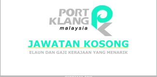Peluang kerjaya Lembaga Pelabuhan Kelang