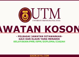 Peluang kerjaya terkini Universiti Teknologi Malaysia