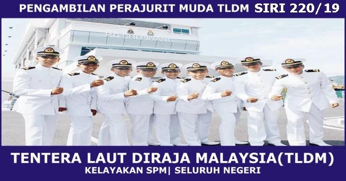 Pengambilan Terkini Tentera Laut Diraja Malaysia
