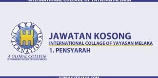 Penyarah International College of Yayasan Melaka