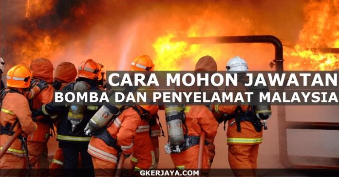 SPA Permohonan Kerja Jabatan Bomba dan Penyelamat Malaysia (1)
