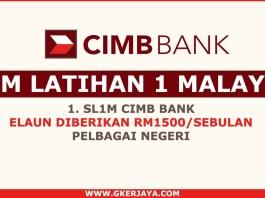 Skim Latihan 1 Malaysia CIMB bank