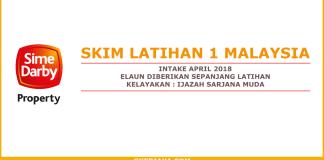Skim Latihan 1 Malaysia Sime Darby Properties