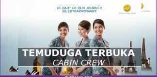 Temuduga Cabin Crew Malaysia Airlines