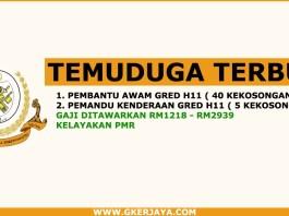 Temuduga Terbuka Majlis Bandaraya Kuala Terengganu