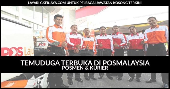 Temuduga Terbuka POSMEN dan Kurier POS Malaysia