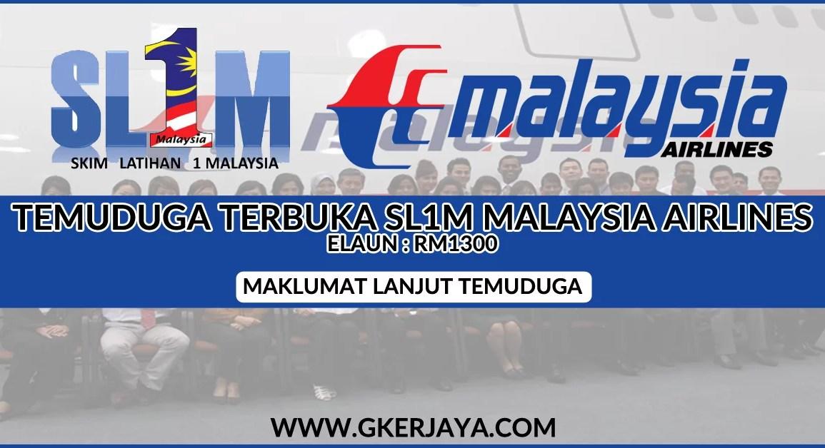 Temuduga Terbuka Skim Latihan 1 Malaysia