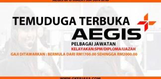 Temuduga terbuka UTC Aegis BPO Malaysia Sdn Bhd
