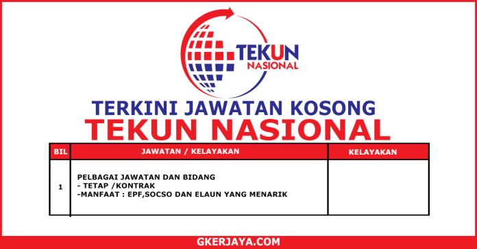 Terkini Jawatan Kosong TEKUN Nasional (1)