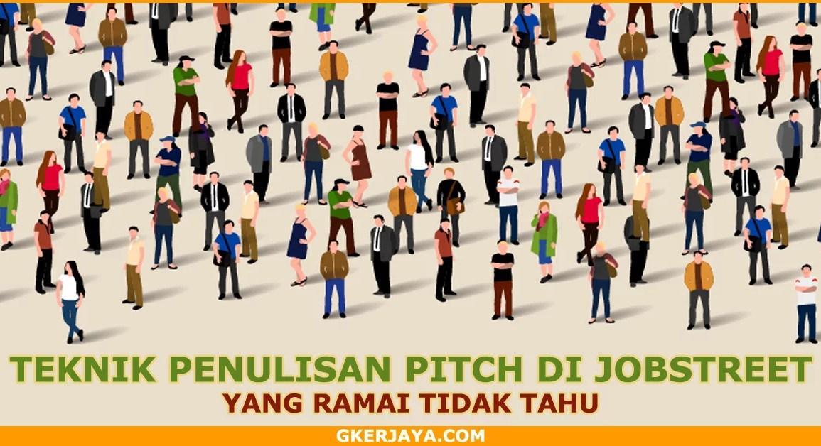 Tips Pitching mohon kerja di Jobstreet