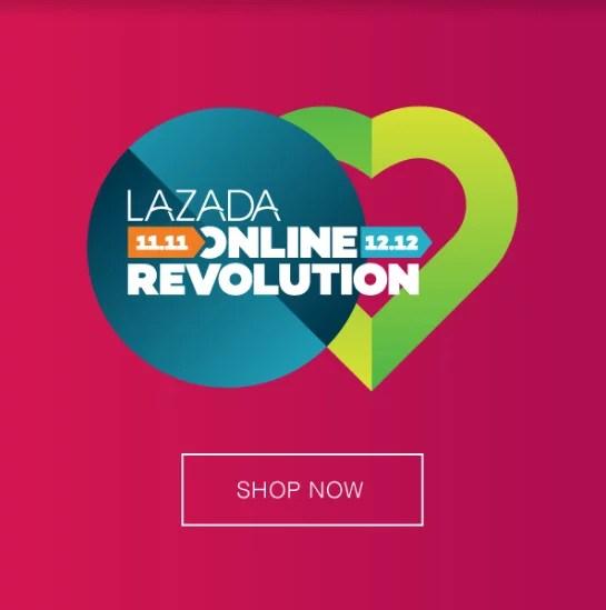 Lazada online revolution syurga kaki shopping