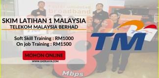 sl1m di Telekom Malaysia Berhad terbuka