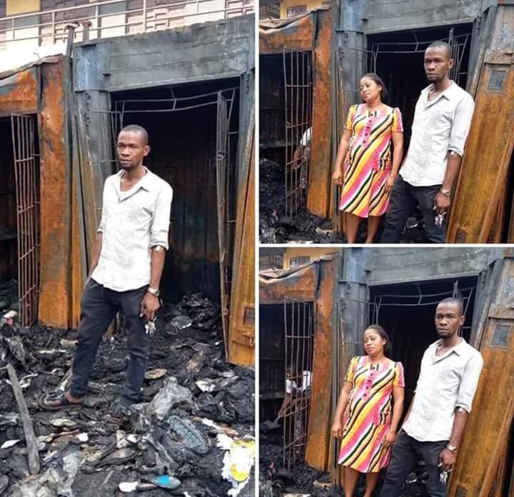 Reno Omokri Locates Victim Of Onitsha Fire Outbreak, Makes Donation (Photos) 1