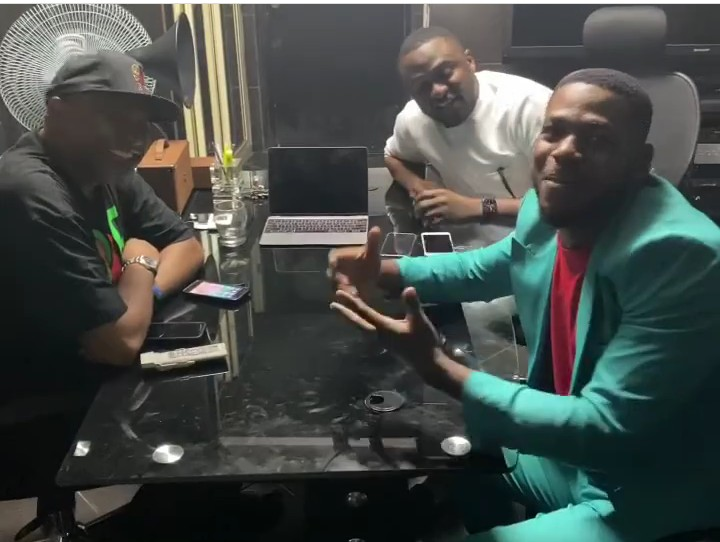Frodd Meets With Ubi Franklin, Paul O, As He Signs New Deal (Photos) 1