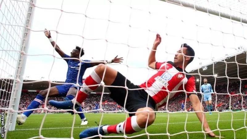 Abraham Score, As Chelsea Beat Southampton (1- 4) goals 1