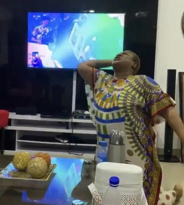 BBNaija: Nkechi Blessing Cries As She Celebrates(See Photos) 1