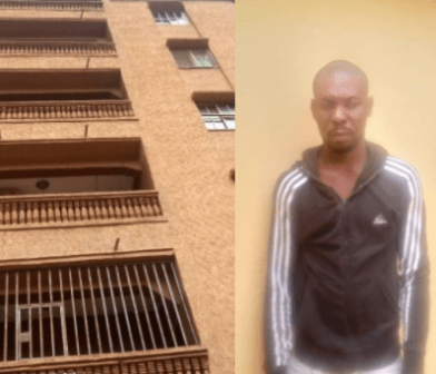 Lady Dies After Her Boyfriend Pushed Her From A 5-Storey Building