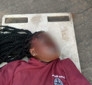 Lady Dies After Her Boyfriend Pushed Her From A 5-Storey Building In Onitsha (Pics) 1