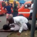 Watch video of Man Filmed Having S£x With A Mad Woman Broad Daylight In Akwa Ibom (Video) 5