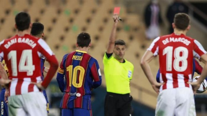 Barcelona Planning To Appeal Lionel Messi's 2-Game Ban 5