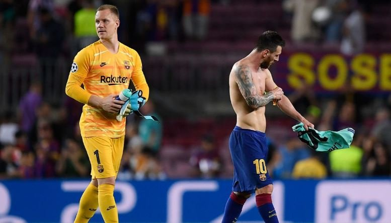 Messi & Ter Stegen Fight In Barcelona Dressing Room (See Details) 3