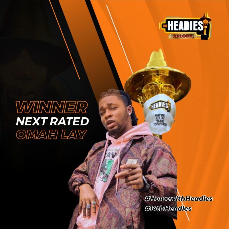 Omah Lay Emerges The Winner Of Headies Next Rated Award Over Bella Shmurda, Others 1