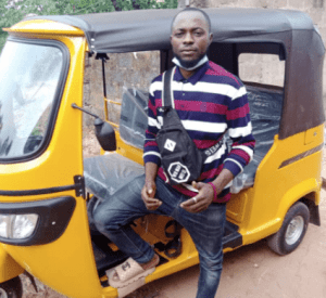 Man Buys New Keke For A Bike Rider Who Sometimes Carried Him For Free During His University Days (Photos) 2
