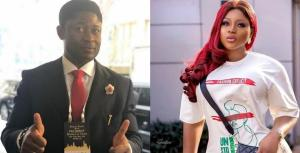 Destiny Etiko reacts to allegation that a billionaire businessman bought Toyota Land Cruiser for her 1