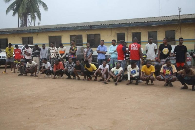 Checkout The Number Of Yahoo Boys & Girls EFCC Arrested In 3 Months 1