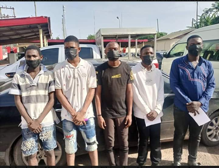EFCC Arrests 34 Yahoo Boys In Owo, Ondo State (Photos)