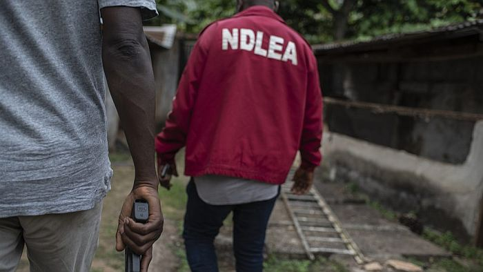 NDLEA Intercepts Drugs Concealed In A Religious Statue, Auto Parts In Lagos (Photos)