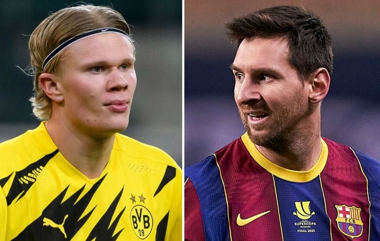 Peo Guardiola Chooses Between Messi & Haaland (See His Pick) 1