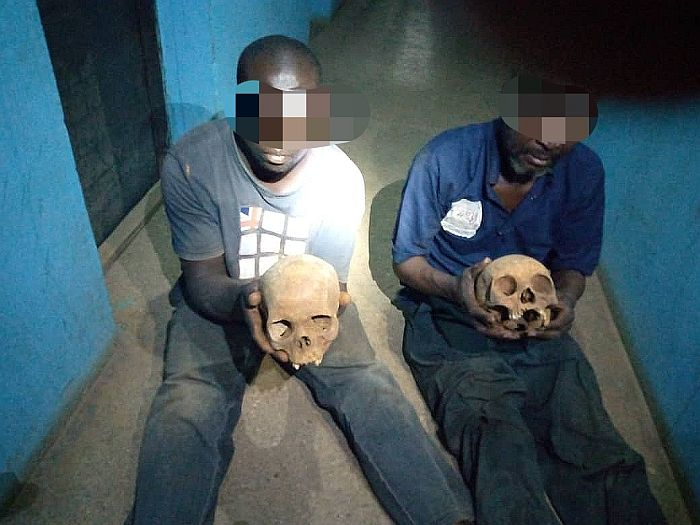 Two Arrested Allegedly With Human Skulls At Muslim Cemetery In Kaduna