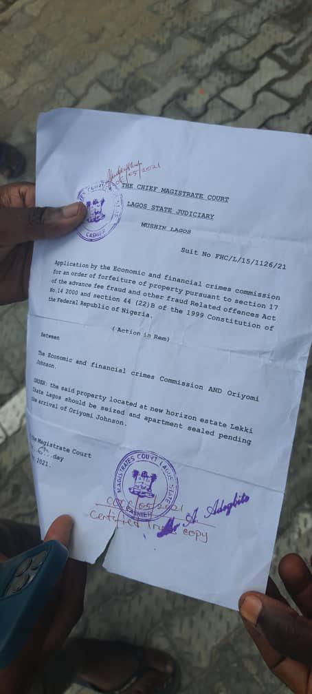 Fake EFCC Officials Caught In Lagos (Photos) 5