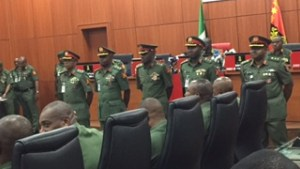 Forceful Retirement Of 10 Top Army Generals Looms As Farouk Yahaya Becomes COAS