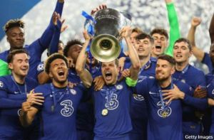 Chelsea Beat Man City To Win The UEFA Champions League (Watch Highlight)