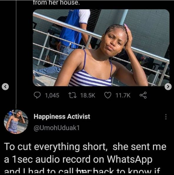 SO SAD!! Read Full Details Of How This Girl Lost Her Life In The Process Of Seeking For Job (Evidence Attached) 4