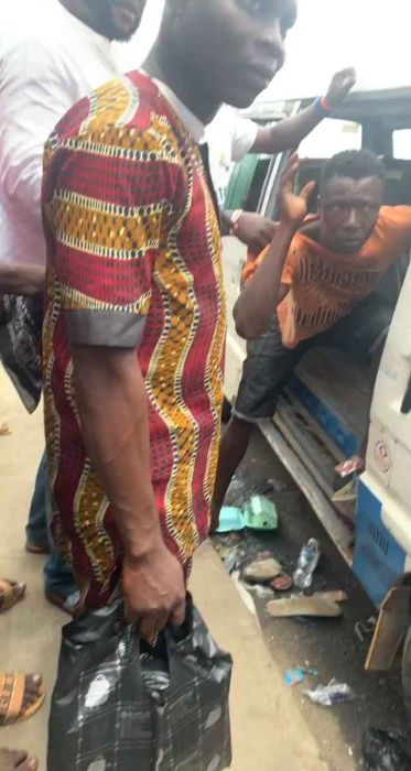 Man Gets Beating Of His Life For Sexually Harassing a Female Passenger (See Video)