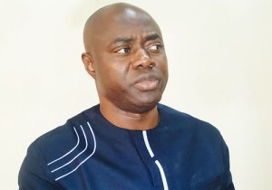 Makinde Sneaks Out As Angry Youths Storm Oyo Governor's Office