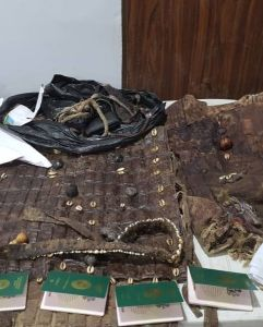 DSS Declares Sunday Igboho Wanted (See Photos Of The Charm And Guns Found In His House) 2