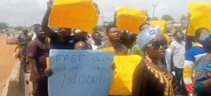 Protesters Shutdown Ibadan, Demand Immediate Release Of Igboho