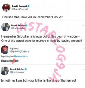 Who Wants To Be A Millioanire Host, Frank Edoho, Fights Dirty With A Troll 1