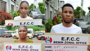 Man, Mother And Girlfriend Jailed For Internet Fraud (Photo) 1