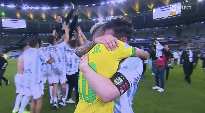 Lionel Messi Wins Trophy With Argentina After BIG WIN Over Brazil (Watch Highlight) 1