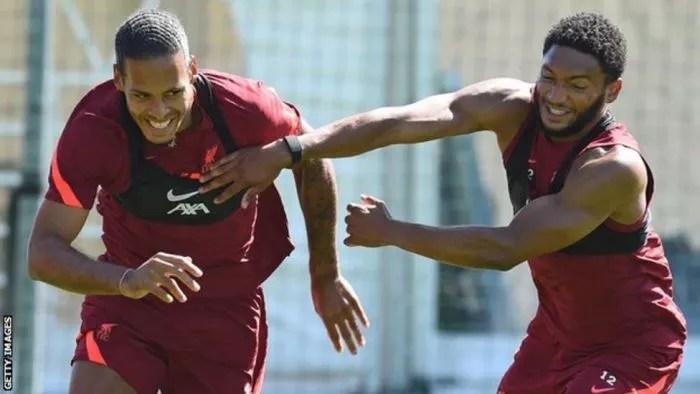HE IS BACK!! Star Defender Virgil Van Dijk Is Back For Liverpool 3