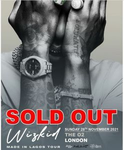BIG WIZ!!! Wizkid Celebrates Selling Out The O2 In A Groundbreaking Record Time 1